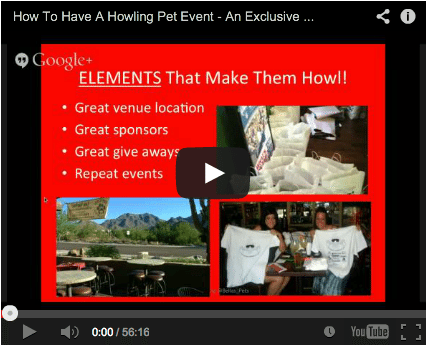 How To Have A Howling Pet Event In Your Community – PPS Speaking Series